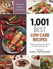 1,001: 1,001 Best Low-Carb Recipes : Delicious, Healthy, Easy-To-make Recipes...