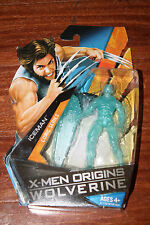 HASBRO X-MEN ORIGINS ICEMAN FROM X-MEN ORIGINS WOLVERINE MOC HTF FIGURE