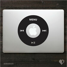 Apple iPod Wheel Macbook Decal / Macbook Sticker