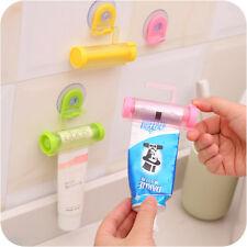 Cute ABS Rolling Squeezer Toothpaste Dispenser Hanging distributeur dentifrice