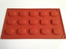 Madeleines Pan Cookies Soft Silicone Mold Fondant Mat Cake Decorating Pastry