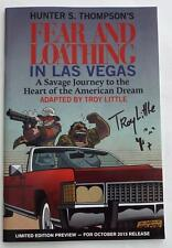 SIGNED TROY LITTLE SDCC EXCLUSIVE HUNTER S.THOMPSON'S  Fear & Loathing Las Vegas