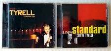 Steve Tyrell - A New Standard & Time ~ 2 CD Lot ~ Jazz Soul Blues Music Singer