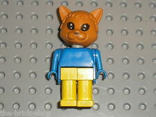 Figurine Chat LEGO FABULAND figure minifig cat ref x583c01 / Set 3701 Cornelius