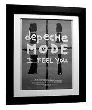 DEPECHE MODE+I Feel You+POSTER+AD+RARE+ORIGINAL+1993+FRAMED+EXPRESS GLOBAL SHIP