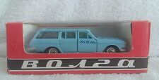 Vintage Soviet Russia USSR Rare gas 24 volga taxi in 1:43 scale a3-2402