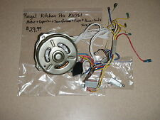 Regal Kitchen Pro Bread Maker Motor Capacitor Transformer Fuse Cord Wiring K6761