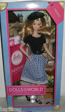 Dolls of the World FRANCE BARBIE - NEW, MINT & NRFB X8420 Ages 6+ !!