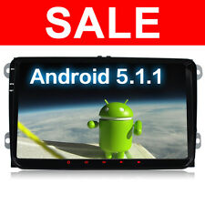 9'' Android 5.1 Quad Core GPS Satnav Stereo for Tiguan VW Jetta Passat Golf Polo