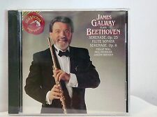 James Galway Plays Beethoven: Serenades, Opp. 25 & 8; Flute Sonata (CD ) NEW