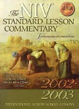 The NIV Standard Lesson Commentary International Sunday School Lessons