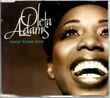 OLETA ADAMS - NEVER KNEW LOVE - CD SINGLE