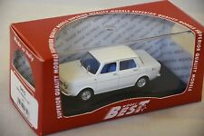Best MODEL 9475 - Simca 1150 Abarth blanche - 1963   1/43