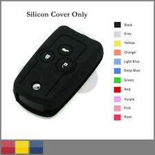 Silicone Cover fit for HONDA Accord Odyssey CRV Civic Flip Remote Key Case BK