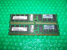 4GB HP (2x 2GB) DDR2  PC2-3200R 400MHz Reg ECC RAM for Servers
