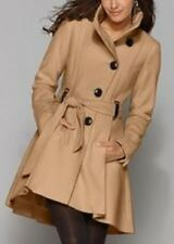 Steve Madden Womens DRAMA Coat CAMEL TAN Sz 2X - NEW!