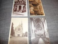 FRANCE Dole Jura Mont-Roland Church      4 x VINTAGE POSTCARDS   GOOD CONDITION