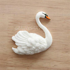 3D Swan Silicone Fondant Mould Cake  Decoration Mat Candy Cutter Tools