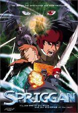 Spriggan (DVD, 2002) Region 2 or 4  Brand New