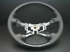 Toyota HILUX VIGO 2005-2008 genuine black leather steering wheel-Piano Black