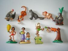 DISNEY THE JUNGLE BOOK FIGURINES SET RUBEZAHL & KOCH - FIGURES COLLECTIBLES