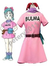 Anime Dragonball Z Bulma Cosplay Costume Custom-made