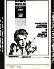 THE SPY WHO CAME IN FROM THE COLD pressbook, Richard Burton, Claire Bloom