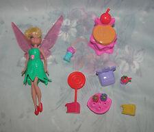 Disney Tinker Bell Fairy Small Set - Chair, Cake Slices, Cash Register, Bakery?