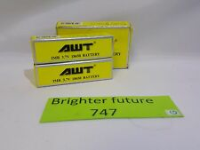 Pack of 2! AWT IMR 3.7 V 18650 Battery. Free Shipping!