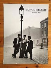 BERT HARDY, NOTTING HILL GATE,1954 RARE  AUTHENTIC 1980'S POSTER