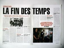 COUPURE DE PRESSE-CLIPPING :  BIOHAZARD [2pages] 01/2003 Billy Graziadei,Kill Or