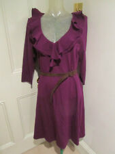 lauren by Ralph Lauren purple dress BNWT SZ L UK 12-14