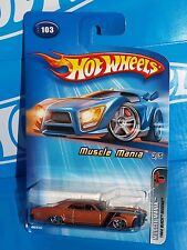 Hot Wheels 2005 Muscle Mania Series #103 1964 Buick Riviera Copper