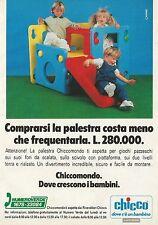 X2853 Palestra CHICCO - Pubblicità 1991 - Advertising