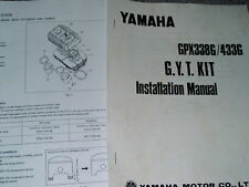 Vintage yamaha gpx GYT 1975 Yamaha GPX433 338G Hop-up manual