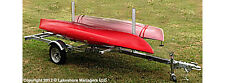 New Galvanized 2 Place Canoe Trailer / 4 Place Kayak Trailer