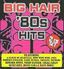 Big Hair '80s Hits by Various Artists (CD, Aug-2008, 2 Discs - Free Postage