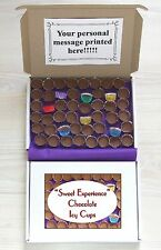 Chocolate Icy Cups 48 Piece Retro Sweet Gift Box Personalised Postal Present