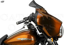 """National Cycle Wave N27403 Dark Tinted Harley Windshield 5.25"""" Tall for 96-13 HD"""