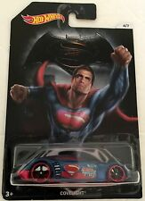 Hot Wheels Batman V Superman Covelight red & blue car 4 of 7 Mattel 2016 NRFP!!!