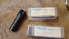 """Lot of 2 NEW Ingersoll 1 1/4"""" Indexable End Mill Cutter 1"""" Shank 16J1A1280R02"""