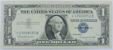 1957 Series US $1 One Dollar Star Note Silver Certificate Small Note P254077