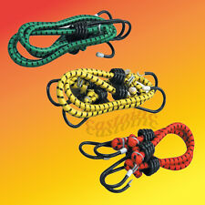 """6 Bungee  Bungie Stretch Cord Tie Down Straps Sets of 2 Each of 12"""" 24"""" 36"""""""
