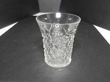 "Ohio Flint Glass Krys-Tol Gloria Tumbler Clear EAPG  4"" T ca1905"