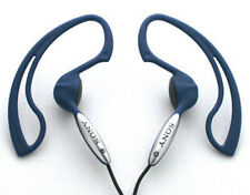 NEW Sony MDR-J10 Earphone J10 Sport Clip Ear Headphone (Blue) us for ipod mp3 us