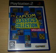 CAPCOM CLASSICS COLLECTION PS2 PLAYSTATION 2 RARE
