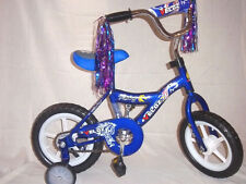 Bicycle 12 in. 2 Wheel with Adjustable Training Wheels - Blue
