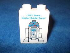 LEGO DUPLO STAR WARS SAMMELSTEIN R2D2 ROBOTER doppelt hoch 2er Noppen 2010 WOW