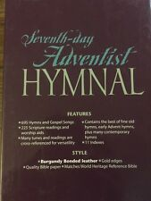 Seventh Day Adventist Hymnal - Burgundy Bonded Leather (SDA Hymns)
