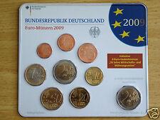 manueduc  ALEMANIA 2009  BLISTER Ceca  J  NUEVO 9 Monedas con 2 € Conmemorativos